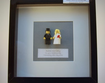 Bride & Groom Lego  picture - wedding gift
