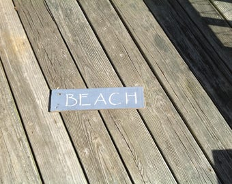BEACH SIGN, COASTAL, nautical, coastal