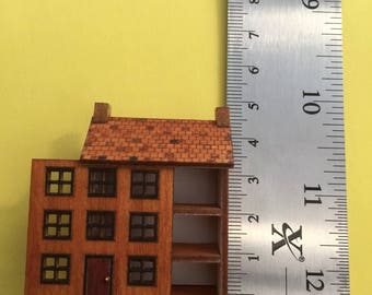 Miniature micro dollshouse for a dollshouse 1/12th scale 1/24th scale 1/48th scale