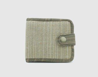 Handmade Hemp Mens Wallet