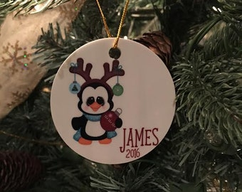Personalized Children's Ornament - Christmas Tree Ornament