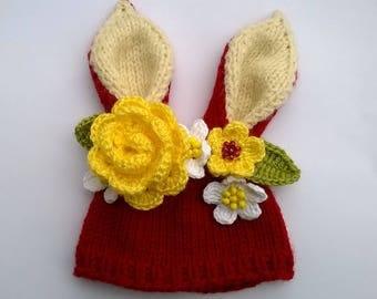 Blythe Hat Blythe Bunny Hat Blythe rabbit hat Blythe Clothes Blythe hare Hat Blythe outfit blythe helmet