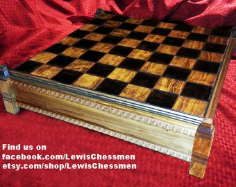 Isle of Lewis Chess Board - with or without case (Chessmen Not Included)