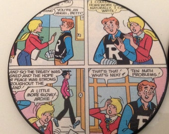 The Archies comic coasters