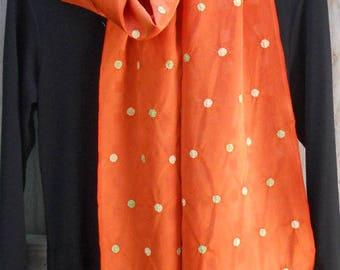 Japanese Vintage Kimono Silk Scarf