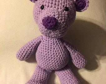 Large Stuffed Bear, Crochet Bear, Amigurumi Bear, Photo Prop, Forest Creatures, Toy Bear, Teddy Bear, Teddybear