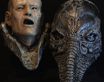 Prometheus Severed Head Finished Resin Display Prop Alien H R Giger