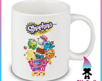 Shopkins Cart Ceramic Coffee Mug