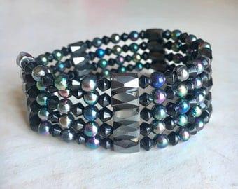 Magnetic Hemalyke Wrap Bracelet