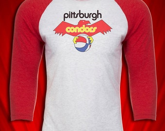 Pittsburgh Condors Vintage 1970s ABA Basketball team Defunct