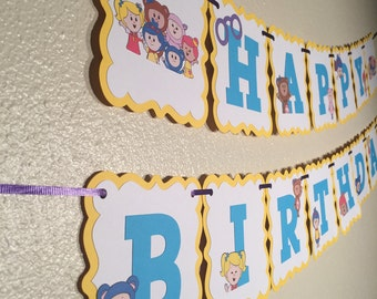 Mother Goose Club Birthday Banner