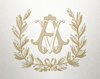 Laurel Wreath Design  - Athens Laurel -  Wreath Design - Digital