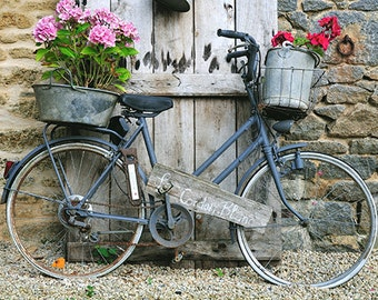 Fine art print photography,France photography, bicycle art print, stampa fotografica fine art di biciclette, stampa fotografica fine art