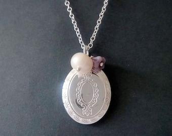 Locket,silver locket,925 sterling silver,925 sterling silver locket,picture locket,image locket,photo locket,