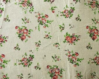 Mini Bouquet cotton canvas linen - 150 cm wide