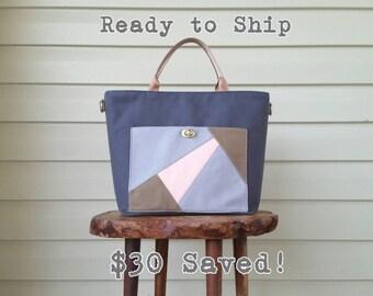 designer tote diaper bags 4lhm  Ready to Ship Dark Grey Canvas Diaper Bag, Messenger Diaper Bag