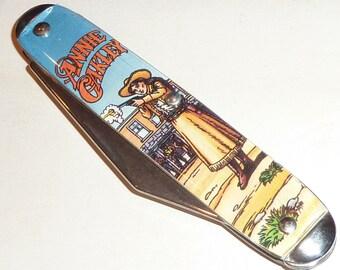 Vintage Annie Oakley Folding Pocket Knife ~ Made in USA