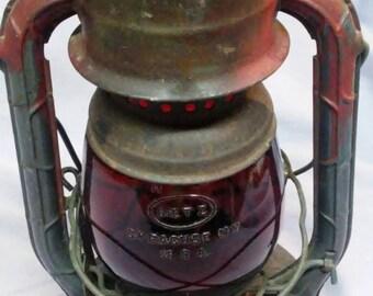 Vintage Deitz Little Wizard Syracuse Railroad Lantern