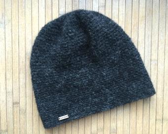 Crochet hat made of baby-alpaca