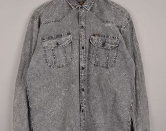 vintage lee riders shirt, vintage lee blouse, vintage lee blouse, vintage shirt, lee denim shirt