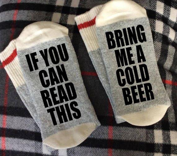 Funny beer socks