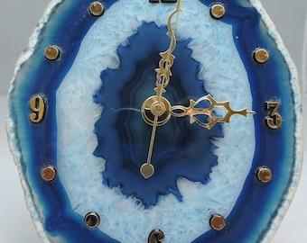 Brazilian Agate Clock