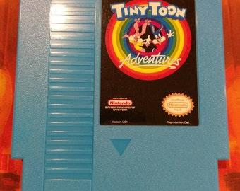 Remix of Tiny Toon Adventures Nintendo (NES) w/ Dust Cover *NEW*