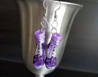 Perfectly Purple earrings, Barbie Shoe Earrings, Statement Earrings, Barbie Earrings, Barbie