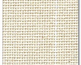 Monk's Cloth 100% Cotton hooking foundation material woven in USA. Suitable for 3 to 8 cut.   Also fantastic to Oxford Punch on!
