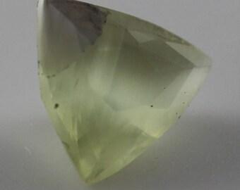 Cat's eye Apatite Trillion Cut 9.20 x 8.90mm T1716 Loose Gem Faceted Gemstone Jewelry Making Rare Gemstone