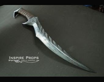 Blade of Woe dagger, Skyrim weapon, TES