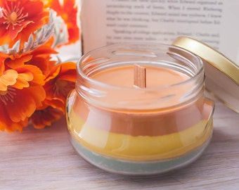 Harry Potter Series Candle - Book Candle - Book Gift - Book Lover - Bookish - Book Series Candle - Book Worm