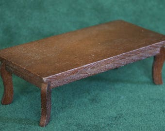 Miniature Wood Coffee Table