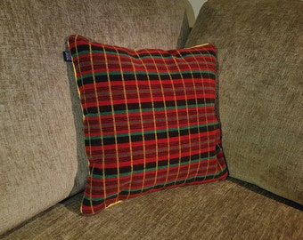 Routemaster Moquette Cushion 40x40cm London Transport, London Bus