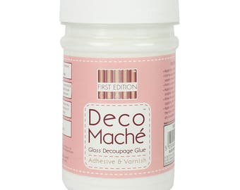 Decoupage Deco Mache Matt Adhesive and Varnish - First Edition