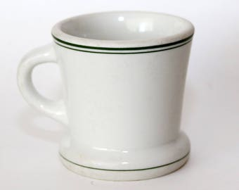 Vintage Shaving Mug, 1940's, Carr China Co., Made in U.S.A.