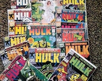lot of 19 The Incredible Hulk comics issues 387-395,397-404,407,420,and 434//vf condition//1991-1995//marvel comics//vintage marvel//hulk