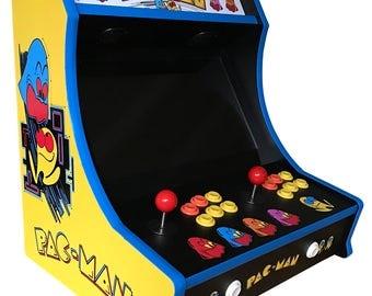 Custom Pac Man Bartop Arcade! 645 Games!