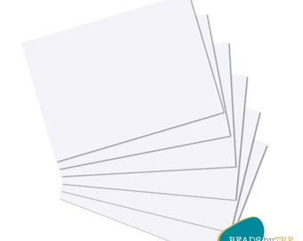 Thick Card Stock, A4 Paper 300gsm, Card Paper for Inkjet Printer, Packs of 10