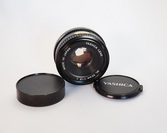 Yashica 50mm ML f/1.9 Manual Focus Lens