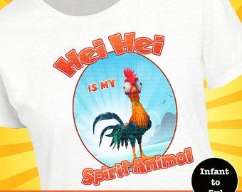 Hei Hei Shirt, Hei Hei Tank, Disney Spirit Animal Shirt, Disney Spirit Animal Tank, Moana Shirt, Disney Moana Shirt