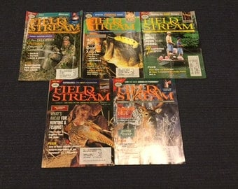 Vintage 1995 Field and Stream Magazines
