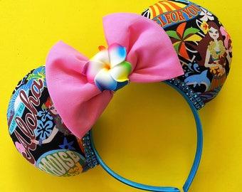 Hawaii Aloha Mickey Ears