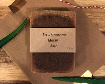 Mocha Cold Process Soap