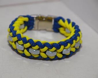 Paracord Semi Hexnut Bracelet