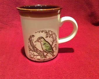 Biltons Woodpecker Pattern Mug circa 1970