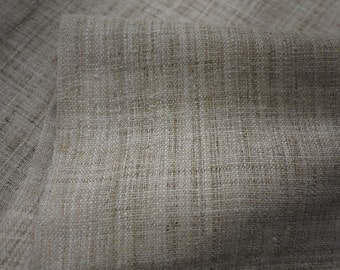 One metre length of natural hemp, undyed  fabric - handwoven textile - Fairtrade fabric - priced by the meter