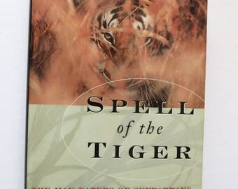 """Spell of the Tiger by Sy Montgomery """"Signed by Author""""  Hardcover 1st Edition  Thriller"""