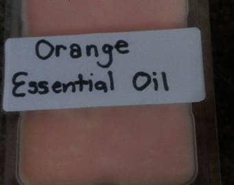 Orange Essential Oils Waxmelts 100% Natural Soy Wax