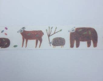 1m Wasitape sample forest animals